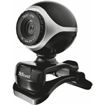 Web-камера TRUST EXIS WEBCAM BLACK/SILVER (17003)